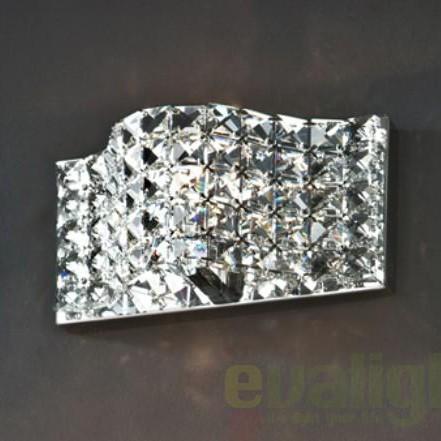Aplica de perete cristal K9 Onda 160320, PROMOTII,  a