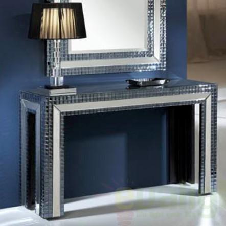 Consola moderna dim.125x37cm Brooklyn 163220, Console - Birouri, Corpuri de iluminat, lustre, aplice a