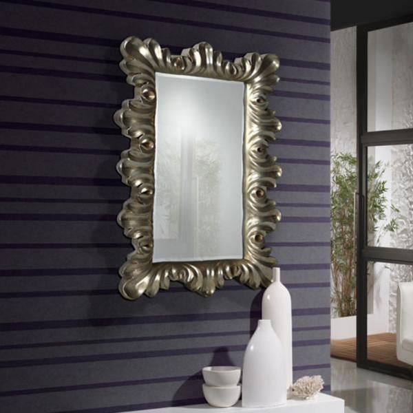 Oglinda decorativa dim. 40x64cm Flora 170279, MOBILA SI DECORATIUNI , Corpuri de iluminat, lustre, aplice a