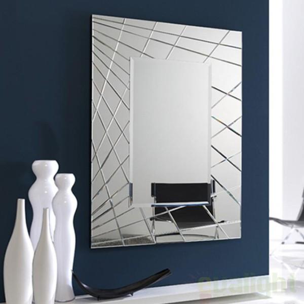 Oglinda decorativa moderna dim.150x110cm Fusion SV-161022 , MOBILA SI DECORATIUNI , Corpuri de iluminat, lustre, aplice, veioze, lampadare, plafoniere. Mobilier si decoratiuni, oglinzi, scaune, fotolii. Oferte speciale iluminat interior si exterior. Livram in toata tara.  a