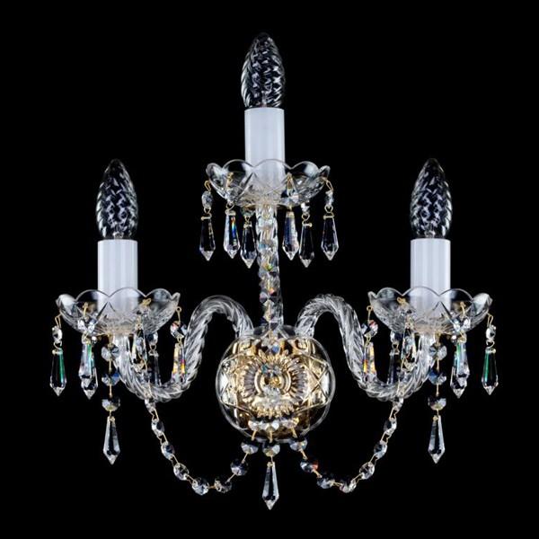 Aplica de perete cristal Bohemia MIRKA III. drops WL CE, Aplice Cristal Bohemia, Corpuri de iluminat, lustre, aplice, veioze, lampadare, plafoniere. Mobilier si decoratiuni, oglinzi, scaune, fotolii. Oferte speciale iluminat interior si exterior. Livram in toata tara.  a