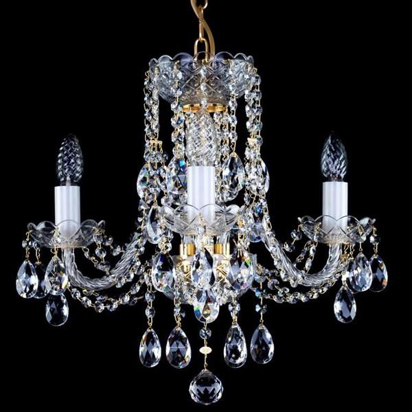 Candelabru cristal Bohemia 3 brate, diam. 47cm Francesca III. CE, Lustre Cristal Bohemia, Corpuri de iluminat, lustre, aplice, veioze, lampadare, plafoniere. Mobilier si decoratiuni, oglinzi, scaune, fotolii. Oferte speciale iluminat interior si exterior. Livram in toata tara.  a