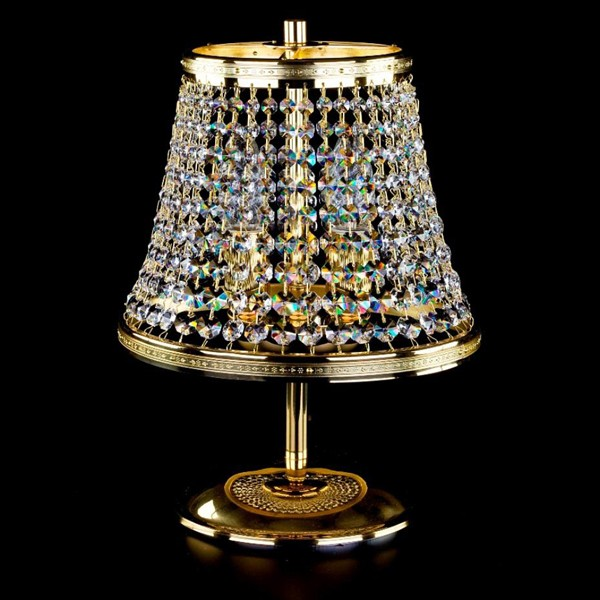 Veioza cristal Bohemia KLOTYLDA dia. 250 TL CE, Veioze Cristal Bohemia, Corpuri de iluminat, lustre, aplice a