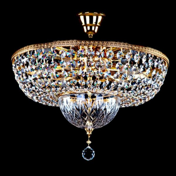 Plafonier cristal Bohemia diametru 50cm Albina II. CE, Cele mai vandute Corpuri de iluminat, lustre, aplice, veioze, lampadare, plafoniere. Mobilier si decoratiuni, oglinzi, scaune, fotolii. Oferte speciale iluminat interior si exterior. Livram in toata tara.  a