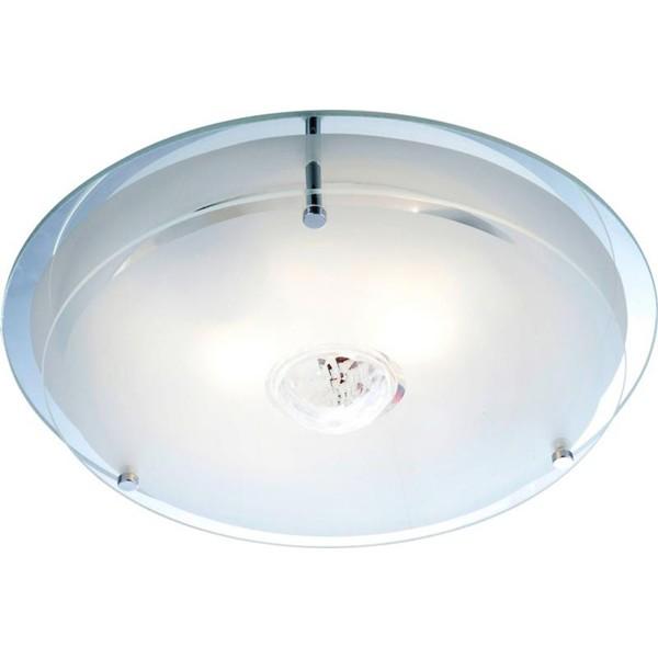 Plafonier cu cristal Malaga 48527 GL, Plafoniere moderne, Corpuri de iluminat, lustre, aplice a