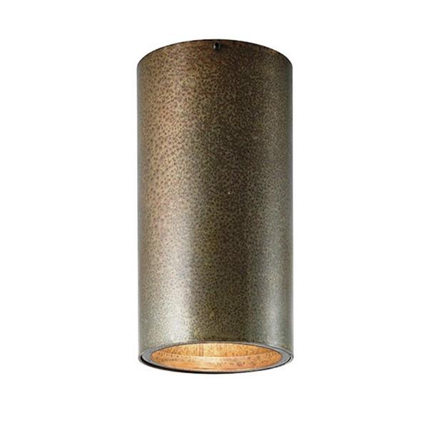 Plafonier clasic antique brass diametru 10cm, H-18,5cm I Girasoli 208.01, Spoturi incastrate, aplicate - tavan / perete, Corpuri de iluminat, lustre, aplice a