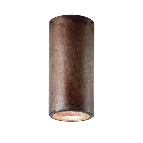 Plafonier clasic antique brass diametru 8cm, H-16cm I Girasoli 208.02, Spoturi incastrate, aplicate - tavan / perete, Corpuri de iluminat, lustre, aplice a