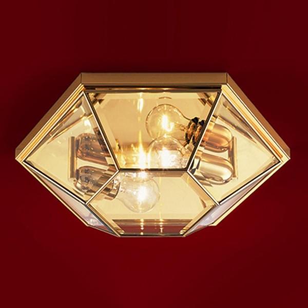Plafonier design clasic finisaj auriu, cromat sau polisat Il Rilegato 491.00, Lustre aplicate, Plafoniere clasice, Corpuri de iluminat, lustre, aplice a