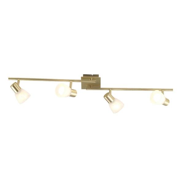 Lustra Raider 54540-4 GL, Spoturi - iluminat - cu 4 spoturi, Corpuri de iluminat, lustre, aplice a