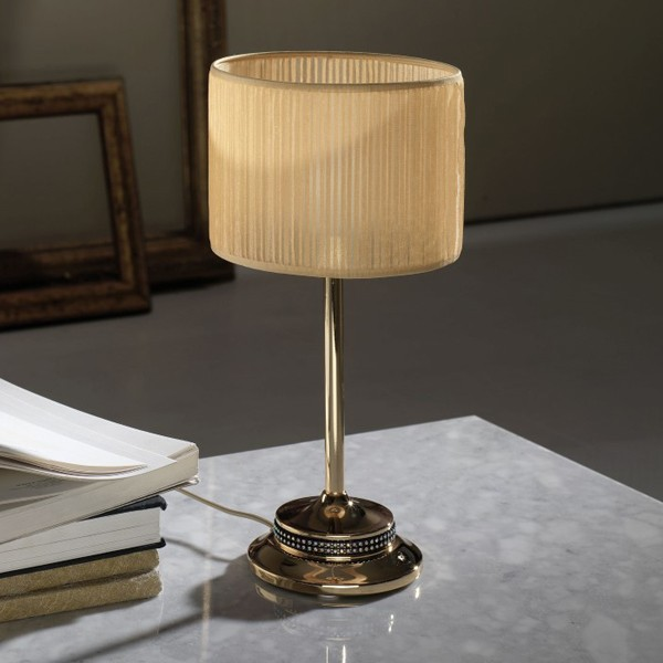 Veioza, lampa de masa cristal Asfour, fabricat manual Barbara 2567 Bejorama, Veioze, Corpuri de iluminat, lustre, aplice, veioze, lampadare, plafoniere. Mobilier si decoratiuni, oglinzi, scaune, fotolii. Oferte speciale iluminat interior si exterior. Livram in toata tara.  a
