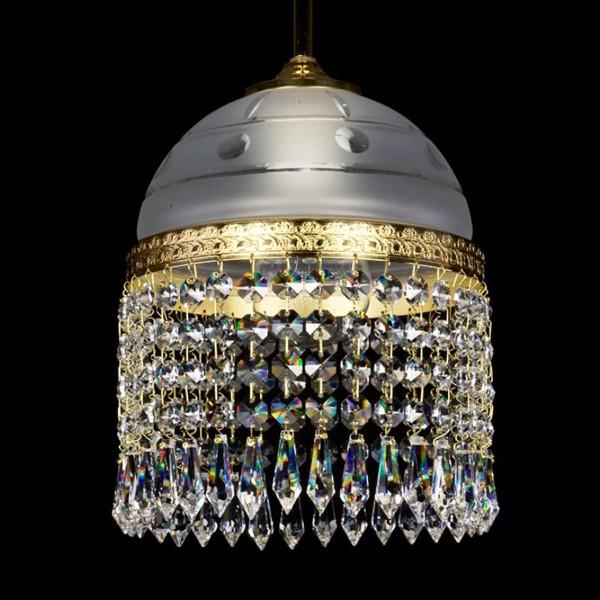 Pendul cristal Bohemia diam.18cm CASSANDRA I. CE, Lustre, Pendule Cristal Bohemia, Corpuri de iluminat, lustre, aplice, veioze, lampadare, plafoniere. Mobilier si decoratiuni, oglinzi, scaune, fotolii. Oferte speciale iluminat interior si exterior. Livram in toata tara.  a