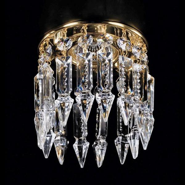 Spot tavan fals cristal Bohemia diam.12cm SPOT 01 , Spoturi tavan fals cristal, Corpuri de iluminat, lustre, aplice a