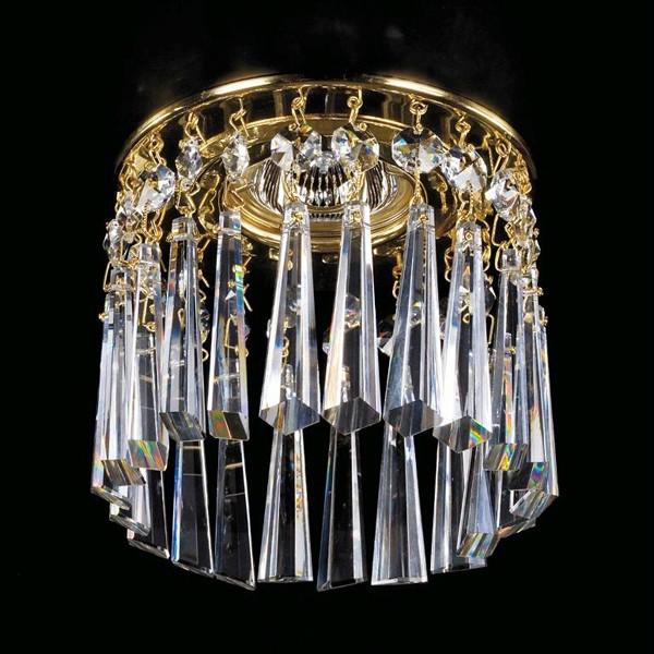 Spot tavan fals cristal Bohemia diam.12cm SPOT 02 CE, Spoturi tavan fals cristal, Corpuri de iluminat, lustre, aplice a