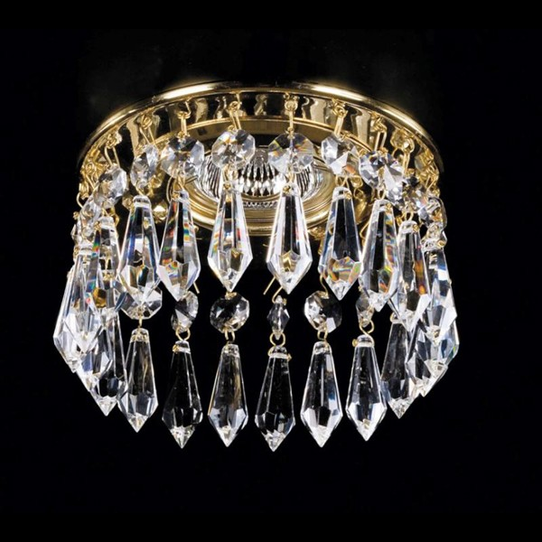 Spot tavan fals cristal Bohemia diam.12cm SPOT 03 CE, Spoturi tavan fals cristal, Corpuri de iluminat, lustre, aplice a