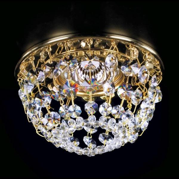 Spot tavan fals Cristal Exclusive diam.12cm SPOT 08 CE, Spoturi tavan Cristal ⭐ modele deosebite stil Baroc cu cristal Swarovski,Bohemia,Asfour,Exclusive❗ ✅Design unicat Premium Top 2020!❤️Promotii la spoturi cristal moderne, clasice, traditionale❗ ➽ www.evalight.ro. Alege oferte la corpuri de iluminat interior incastrat in tavan si perete, decorative, din metal auriu, alama, argintiu, ieftine si de lux, calitate superioara la cel mai bun pret. a