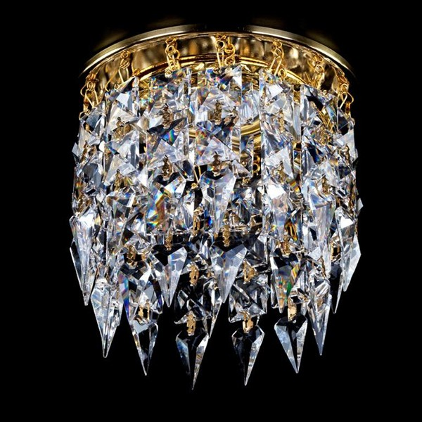 Spot tavan fals Cristal Exclusive diam.12cm SPOT 11 CE, Spoturi tavan Cristal ⭐ modele deosebite stil Baroc cu cristal Swarovski,Bohemia,Asfour,Exclusive❗ ✅Design unicat Premium Top 2020!❤️Promotii la spoturi cristal moderne, clasice, traditionale❗ ➽ www.evalight.ro. Alege oferte la corpuri de iluminat interior incastrat in tavan si perete, decorative, din metal auriu, alama, argintiu, ieftine si de lux, calitate superioara la cel mai bun pret. a