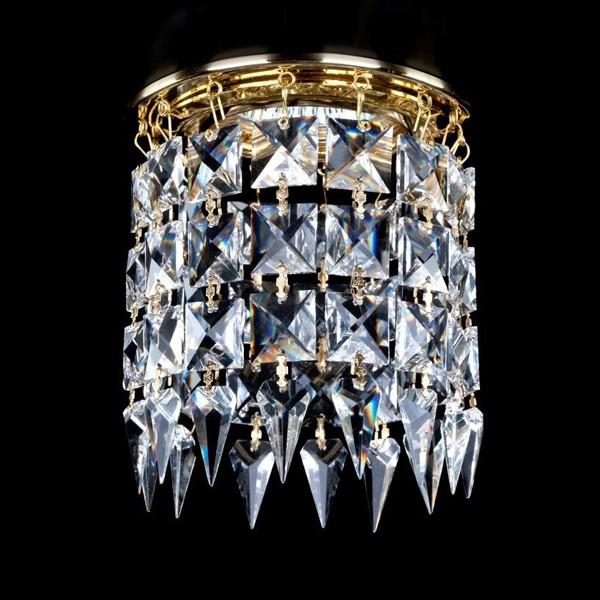 Spot tavan fals cristal Bohemia diam.12cm SPOT 12 CE, Spoturi tavan fals cristal, Corpuri de iluminat, lustre, aplice a