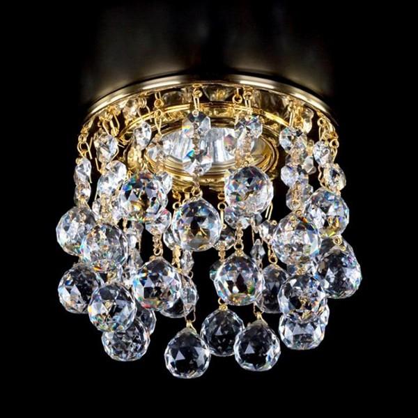 Spot tavan fals cristal Bohemia diam.12cm SPOT 14 CE, Spoturi tavan fals cristal, Corpuri de iluminat, lustre, aplice a