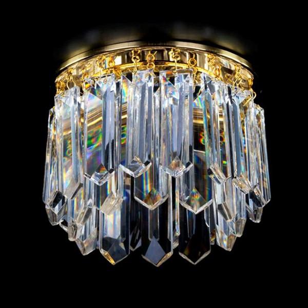 Spot tavan fals cristal Bohemia diam.12cm SPOT 15 CE, Spoturi tavan fals cristal, Corpuri de iluminat, lustre, aplice, veioze, lampadare, plafoniere. Mobilier si decoratiuni, oglinzi, scaune, fotolii. Oferte speciale iluminat interior si exterior. Livram in toata tara.  a