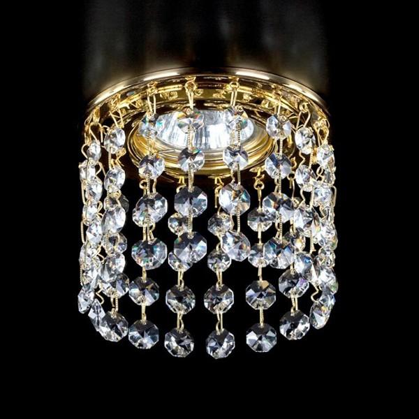 Spot tavan fals cristal Bohemia diam.10cm SPOT 16 CE, Spoturi tavan fals cristal, Corpuri de iluminat, lustre, aplice a