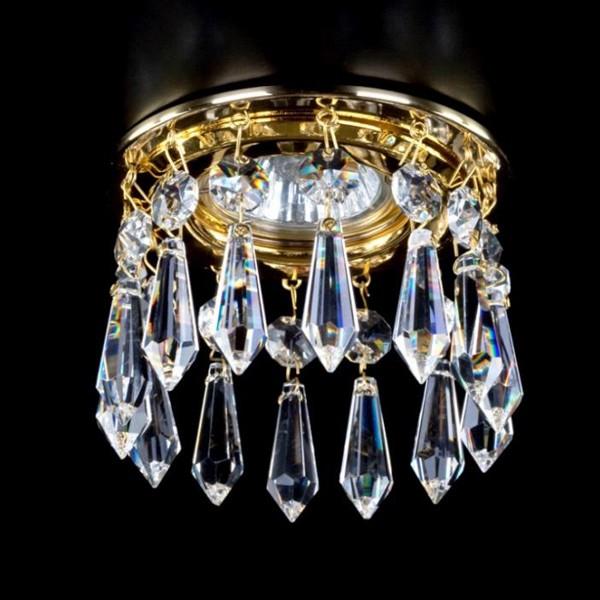 Spot tavan fals cristal Bohemia diam.10cm SPOT 17 CE, Spoturi tavan fals cristal, Corpuri de iluminat, lustre, aplice a