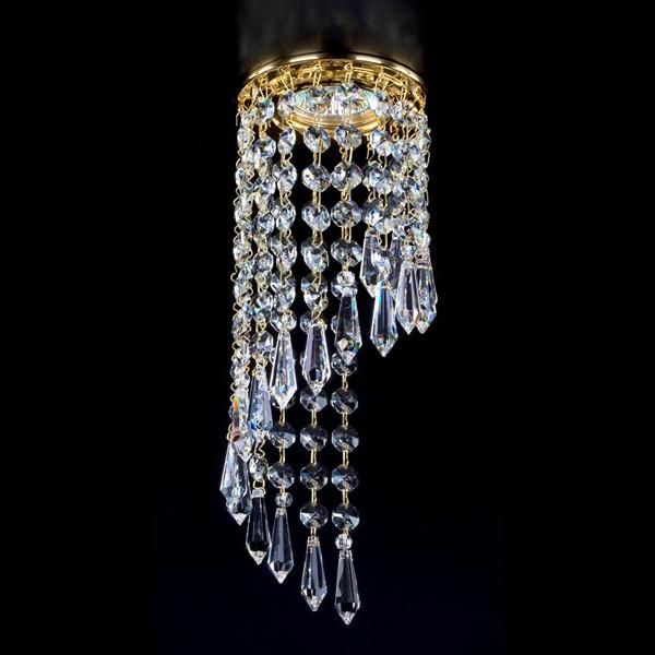 Spot tavan fals cristal Bohemia diam.10cm SPOT 18 CE, Spoturi tavan fals cristal, Corpuri de iluminat, lustre, aplice a
