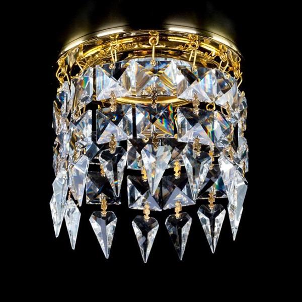 Spot tavan fals cristal Bohemia diam.10cm SPOT 19 CE, Spoturi tavan fals cristal, Corpuri de iluminat, lustre, aplice a