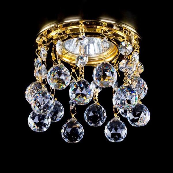 Spot tavan fals cristal Bohemia diam.10cm SPOT 20 CE, Spoturi tavan fals cristal, Corpuri de iluminat, lustre, aplice a