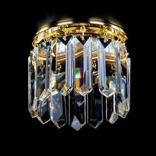 Spot tavan fals cristal Bohemia diam.10cm SPOT 21 CE, Spoturi tavan fals cristal, Corpuri de iluminat, lustre, aplice, veioze, lampadare, plafoniere. Mobilier si decoratiuni, oglinzi, scaune, fotolii. Oferte speciale iluminat interior si exterior. Livram in toata tara.  a