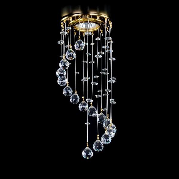 Spot tavan fals cristal Bohemia diam.12cm SPOT 22 CE, Spoturi tavan fals cristal, Corpuri de iluminat, lustre, aplice, veioze, lampadare, plafoniere. Mobilier si decoratiuni, oglinzi, scaune, fotolii. Oferte speciale iluminat interior si exterior. Livram in toata tara.  a