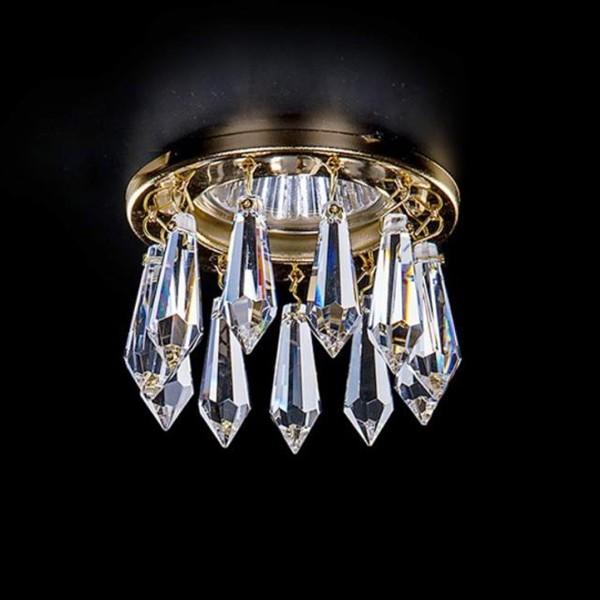 Spot tavan fals cristal Bohemia diam.8cm SPOT 81 CE, Spoturi tavan fals cristal, Corpuri de iluminat, lustre, aplice a