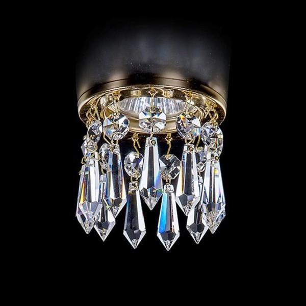 Spot tavan fals cristal Bohemia diam.8cm SPOT 83 CE, Spoturi tavan fals Cristal, Corpuri de iluminat, lustre, aplice, veioze, lampadare, plafoniere. Mobilier si decoratiuni, oglinzi, scaune, fotolii. Oferte speciale iluminat interior si exterior. Livram in toata tara.  a