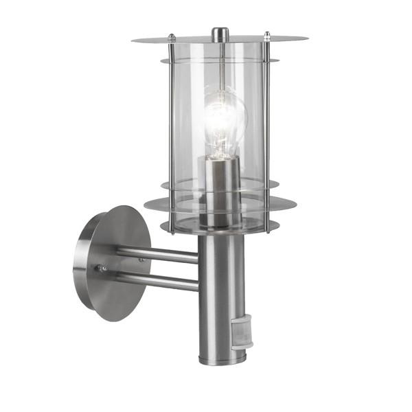 Aplica exterior cu senzor Miami 3151S GL, Iluminat cu senzor de miscare, Corpuri de iluminat, lustre, aplice a