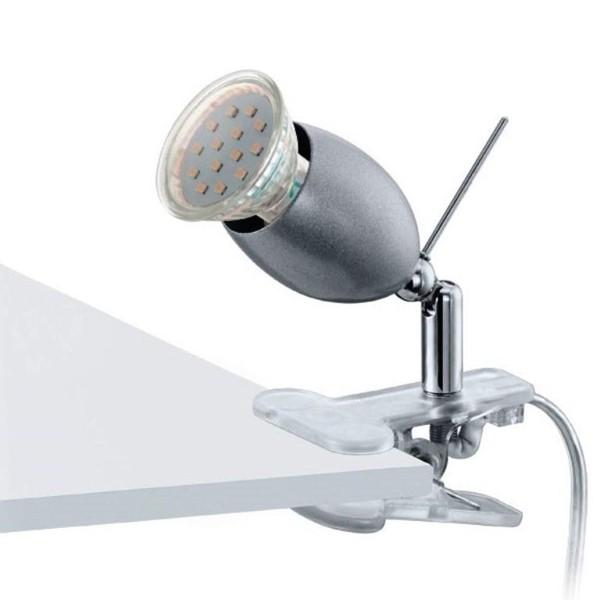 Veioza Birou cu clip, spot directionabil, LED, Banny 1 93119 EL, ILUMINAT INTERIOR LED , ⭐ modele moderne de lustre LED cu telecomanda potrivite pentru living, bucatarie, birou, dormitor, baie, camera copii (bebe si tineret), casa scarii, hol. ✅Design de lux premium actual Top 2020! ❤️Promotii lampi LED❗ ➽ www.evalight.ro. Alege oferte la sisteme si corpuri de iluminat cu LED dimabile (becuri cu leduri si module LED integrate cu lumina calda, naturala sau rece), ieftine si de lux. Cumpara la comanda sau din stoc, oferte si reduceri speciale cu vanzare rapida din magazine la cele mai bune preturi. Te aşteptăm sa admiri calitatea superioara a produselor noastre live în showroom-urile noastre din Bucuresti si Timisoara❗ a