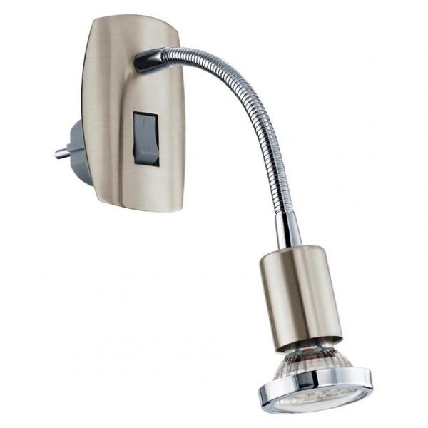 Aplica de priza cu intrerupator, LED, suport flexibil, Mini 4 92933 EL, ILUMINAT INTERIOR LED , ⭐ modele moderne de lustre LED cu telecomanda potrivite pentru living, bucatarie, birou, dormitor, baie, camera copii (bebe si tineret), casa scarii, hol. ✅Design de lux premium actual Top 2020! ❤️Promotii lampi LED❗ ➽ www.evalight.ro. Alege oferte la sisteme si corpuri de iluminat cu LED dimabile (becuri cu leduri si module LED integrate cu lumina calda, naturala sau rece), ieftine si de lux. Cumpara la comanda sau din stoc, oferte si reduceri speciale cu vanzare rapida din magazine la cele mai bune preturi. Te aşteptăm sa admiri calitatea superioara a produselor noastre live în showroom-urile noastre din Bucuresti si Timisoara❗ a