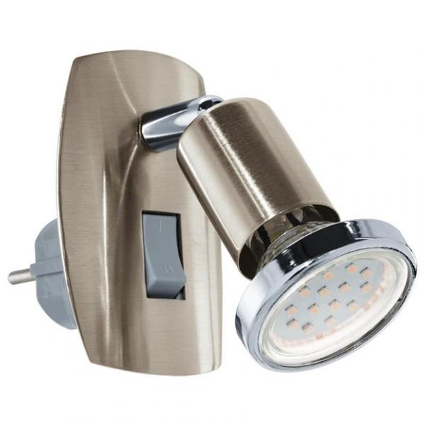 Aplica de priza cu intrerupator, LED, spot directionabil, Mini 4 92924 EL, ILUMINAT INTERIOR LED , ⭐ modele moderne de lustre LED cu telecomanda potrivite pentru living, bucatarie, birou, dormitor, baie, camera copii (bebe si tineret), casa scarii, hol. ✅Design de lux premium actual Top 2020! ❤️Promotii lampi LED❗ ➽ www.evalight.ro. Alege oferte la sisteme si corpuri de iluminat cu LED dimabile (becuri cu leduri si module LED integrate cu lumina calda, naturala sau rece), ieftine si de lux. Cumpara la comanda sau din stoc, oferte si reduceri speciale cu vanzare rapida din magazine la cele mai bune preturi. Te aşteptăm sa admiri calitatea superioara a produselor noastre live în showroom-urile noastre din Bucuresti si Timisoara❗ a