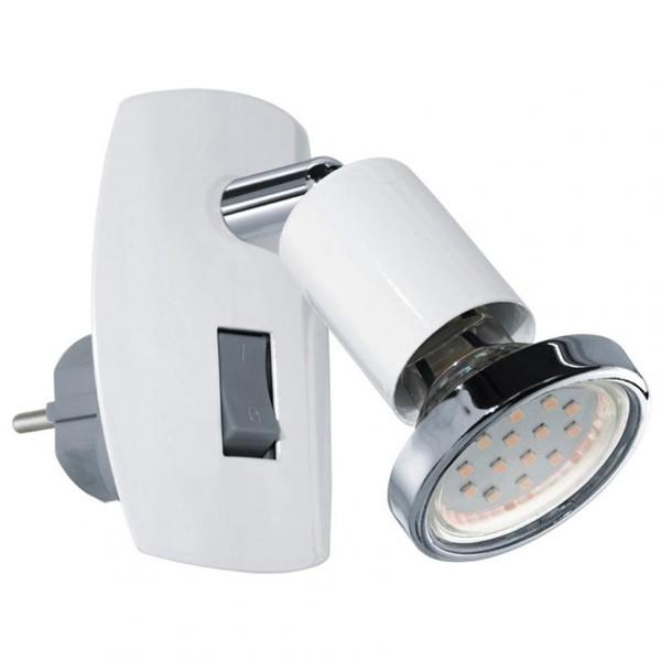 Aplica de priza cu intrerupator, LED, spot directionabil, Mini 4 92925 EL, ILUMINAT INTERIOR LED , ⭐ modele moderne de lustre LED cu telecomanda potrivite pentru living, bucatarie, birou, dormitor, baie, camera copii (bebe si tineret), casa scarii, hol. ✅Design de lux premium actual Top 2020! ❤️Promotii lampi LED❗ ➽ www.evalight.ro. Alege oferte la sisteme si corpuri de iluminat cu LED dimabile (becuri cu leduri si module LED integrate cu lumina calda, naturala sau rece), ieftine si de lux. Cumpara la comanda sau din stoc, oferte si reduceri speciale cu vanzare rapida din magazine la cele mai bune preturi. Te aşteptăm sa admiri calitatea superioara a produselor noastre live în showroom-urile noastre din Bucuresti si Timisoara❗ a