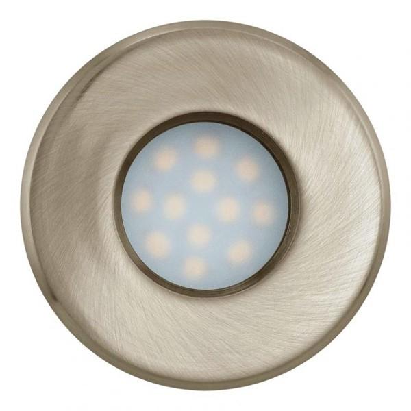 Set 3 spoturi, incastrabil pt. tavan fals, diam. 8,5cm, IP44, LED Igoa 93221 EL, Spoturi LED incastrate, aplicate, Corpuri de iluminat, lustre, aplice a