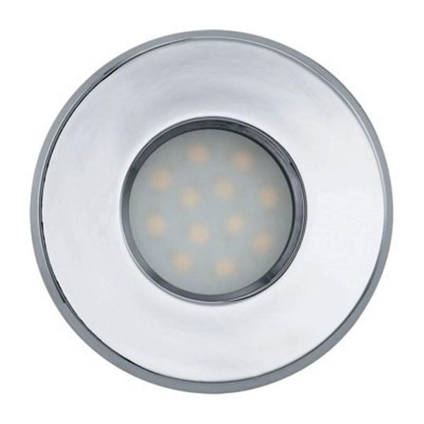 Set 3 spoturi, incastrabil pt. tavan fals, diam. 8,5cm, IP44, LED Igoa 93219 EL, Spoturi LED incastrate, aplicate, Corpuri de iluminat, lustre, aplice a