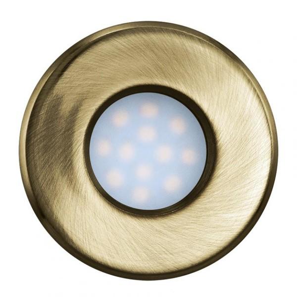 Set 3 spoturi, incastrabil pt. tavan fals, diam. 8,5cm, IP44, LED Igoa 93222 , Spoturi incastrate, aplicate - tavan / perete, Corpuri de iluminat, lustre, aplice a