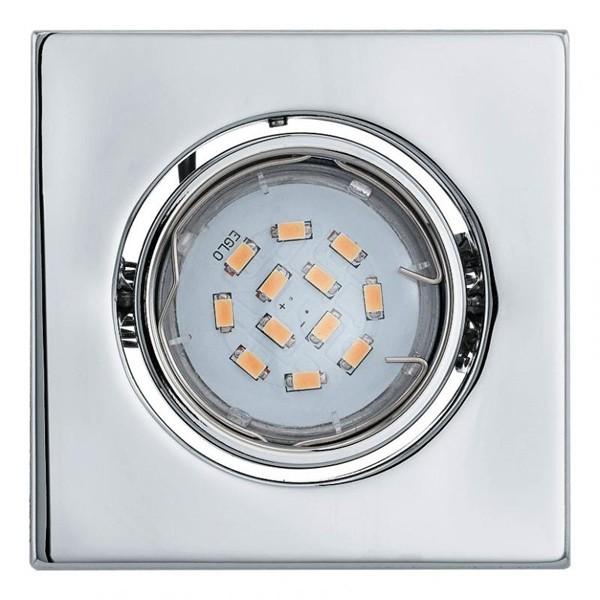 Spot incastrabil pt. tavan fals, directionabil, dim. 9,5x9,5cm, IP20, LED Igoa 93242 EL, Spoturi LED incastrate, aplicate, Corpuri de iluminat, lustre, aplice a