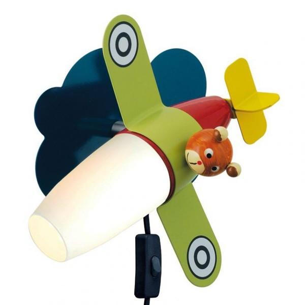 Aplica de perete copii LED Siro 1 93186 EL, Lustre pentru camera Copii, Corpuri de iluminat, lustre, aplice a