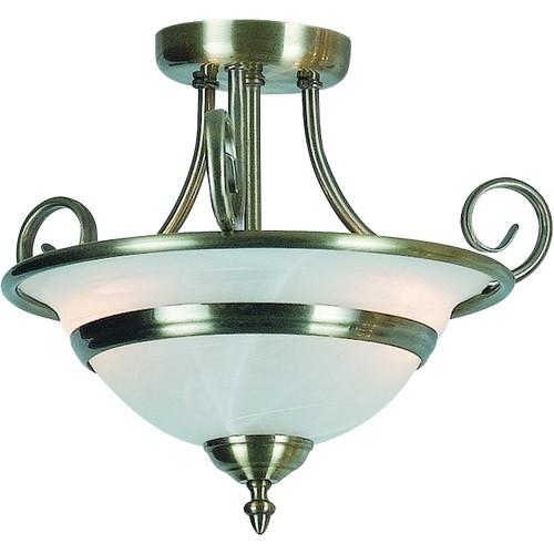 Lustra aplicata diametru 35cm Toledo 6896-2 GL, ILUMINAT INTERIOR RUSTIC, Corpuri de iluminat, lustre, aplice a
