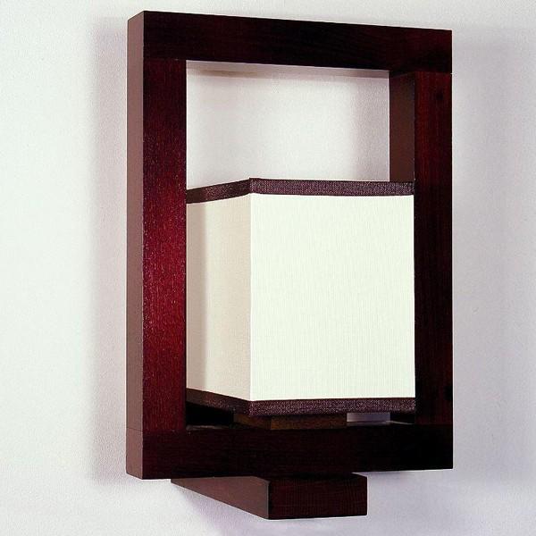 Aplica de perete rustica fabricata manual din lemn Boston 3658, PROMOTII,  a