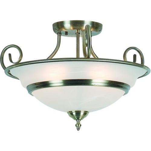 Plafonier diametru 50cm Toledo 6896-5 GL, ILUMINAT INTERIOR RUSTIC, Corpuri de iluminat, lustre, aplice a