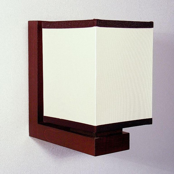 Aplica de perete rustica fabricata manual din lemn Lido WOOD-LI-AP1, Magazin,  a
