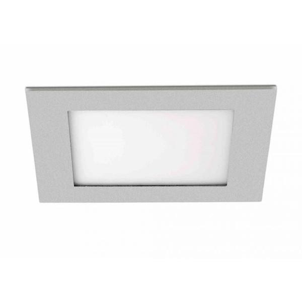 Spot incastrabil pt. tavan fals, dim.18x18cm LED cold light Bora-P 42822 Faro Barcelona, Spoturi incastrate, aplicate - tavan / perete, Corpuri de iluminat, lustre, aplice a
