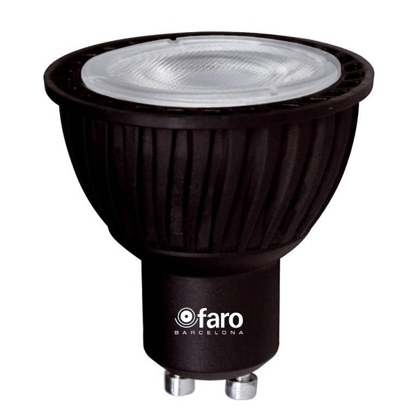 Bec LED 5 Watt 4000K neutral white light GU10 14141 Faro Barcelona, Becuri GU10, Corpuri de iluminat, lustre, aplice, veioze, lampadare, plafoniere. Mobilier si decoratiuni, oglinzi, scaune, fotolii. Oferte speciale iluminat interior si exterior. Livram in toata tara.  a