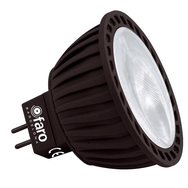 Bec LED 5 Watt 4000K neutral white light MR16 14143 Faro Barcelona, Becuri halogene, Corpuri de iluminat, lustre, aplice a