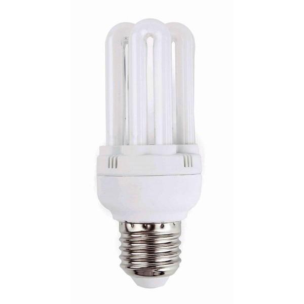 Bec mini energy saving 6U T2 E27 20W 5000K cold light 16593 Faro Barcelona, Becuri E27, Corpuri de iluminat, lustre, aplice a